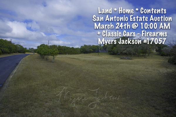 San Antonio Estate Auction Myers Jackson Americas Auctioneer