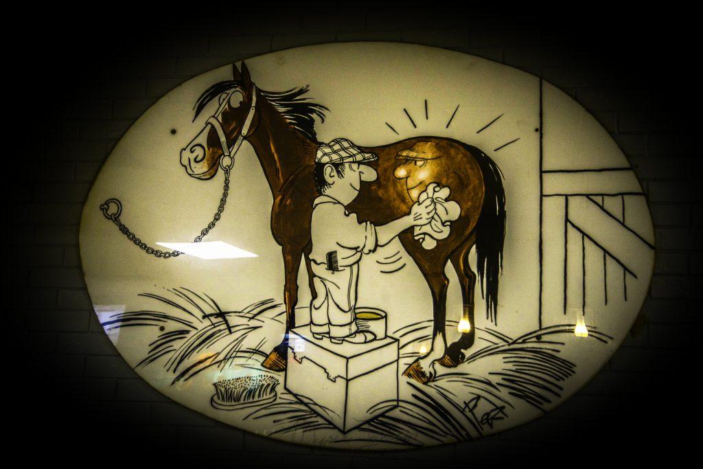 House or Horse at Athens Texas, Wal Mart