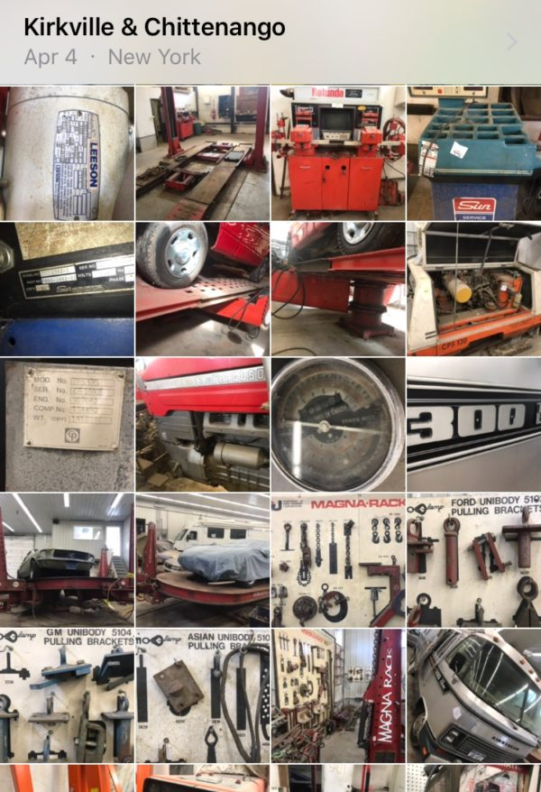 Chuck AutoBody Estate Auction
